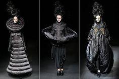 dark avant garde   Posted Under: crystals , irina shaposhnikova , new designs