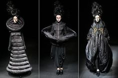 dark avant garde | Posted Under: crystals , irina shaposhnikova , new designs