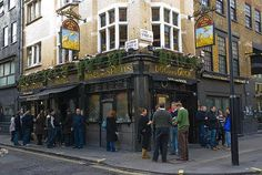 The Dog and Duck pub in London England