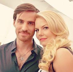 Colin and Jennifer ... #OUAT #CaptainSwan