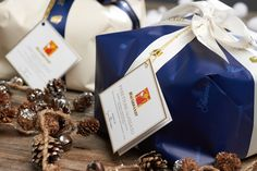 Panettone Delice e Panettone Glassato, ricetta di Iginio Massari. Panettone Glassato and Panettone Delice, Christmas dessert, recipe by Iginio Massari