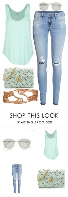 """""""street style"""" by ecem1 ❤ liked on Polyvore featuring River Island, Rip Curl, H&M, Chanel and maurices"""