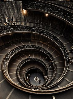 Spiral Staircase at the Vatican Museum…