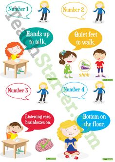 10 Class Rules Posters Teaching Resource Class Rules Poster, Listening Ears, Classroom Rules, Teaching Resources, Behavior, Student, Posters, Behance, Poster