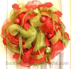 still making Christmas wreaths at www.southerncharmwreaths.com