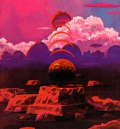Paul Lehr - Counter-Clock World, 1974.