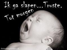 Facebook-plaatjes, welterusten en slaap lekker plaatjes voor Facebook van Animatieplaatjes.nl