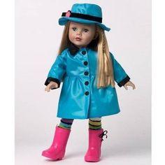 "Madame Alexander Favorite Friends Rainy Dayz Days 18"" Vinyl Girl Doll # 68875 #MadameAlexander #Dolls"