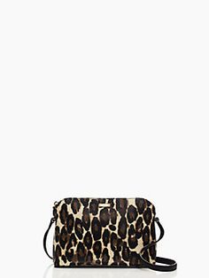 Kate Spade Cedar Street Leopard Mandy -- Perfectly sized for all your essentials!