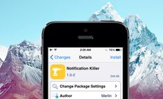 Cómo Borrar Todas las Notificaciones a La Vez con Notification Killer | Cydia