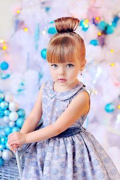 Anna Pavaga (born November 2, 2009) Russian child model and actress. Maria Kasilova Photography 2012.