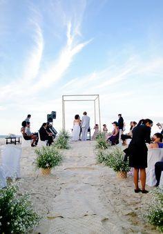 A serene Brazilian Beach Wedding
