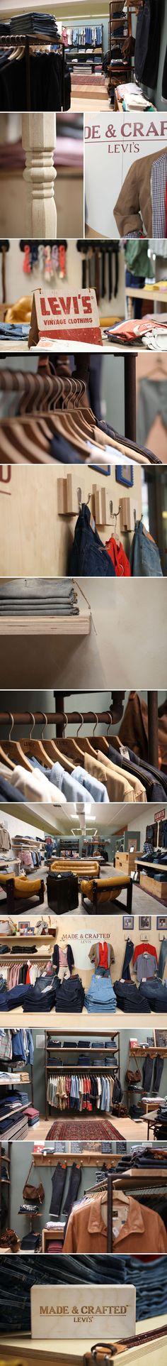 Levi's XX store by WoodSmithe