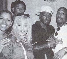 | Oct 1995 with Faith Evans and Treach at the Hollywood Athletic Club