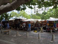 Green market square South Africa, Street View, Green