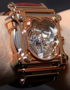 Jacob & Co. Cyclone Tourbillon Watch Hands On   hands on