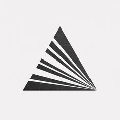 Perfectly Simple Geometric Illustrations by Pierre Voisin Geometric Drawing, Geometric Logo, Geometric Designs, Geometric Shapes, Chevron Tattoo, Logo Luxury, Graphisches Design, Mandala Design, Art Logo