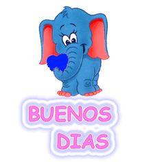 buenos dias elefantito corazon