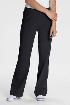 Women's Yoga Pants from Lands' End