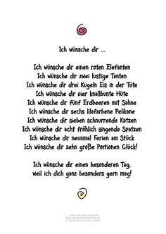 Die Persönliche Note: Ich Wünsche Dir ... Humorvolles Gedicht Für  Geburtstagsgrüße Und Andere · Geburtstag FeiernEinladung Geburtstag50 ...