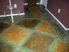 Stamped Concrete, Tile Floor, Sweet Home, Flooring, Stone, Projects, Log Projects, Rock, House Beautiful
