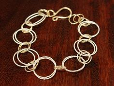 Twisted Links Bracelet 270 — DP Jewelry Designs