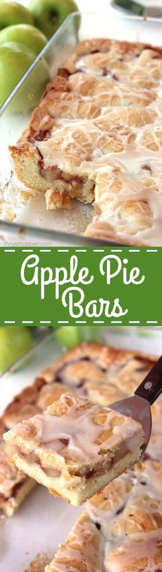 If you are a fan of apple pie, you will love these easy to make Apple Pie Bars. You can use homemade apple pie filling or even store bought. Perfect fall desser