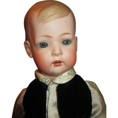 """Absolutely Adorable 17"""" Bruno Schmidt Tommy Tucker doll - Mold 2048 from nostalgicimages on Ruby Lane"""