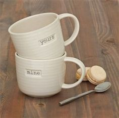 Yours To Mine Two Pack Mugs from the Next UK online shop