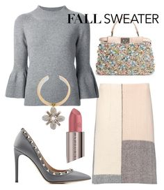 """Knits for Fall"" by arta13 on Polyvore featuring Fendi, Marni, Carolina Herrera, Tory Burch, Valentino and Urban Decay"