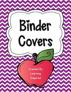 "Binder Covers FREEBIE with To Do ListThis freebie contains five binder covers and binder spines to match in 1"" and 1 1/2"". I hope these binder cover pages help you organize your classroom paperwork. I have also included a To Do list to help you keep track of all your tasks.*****************************************************************************Customer Tips: How to get TPT credit to use on future purchases:       Please go to your My Purchases page (you may need to login)."