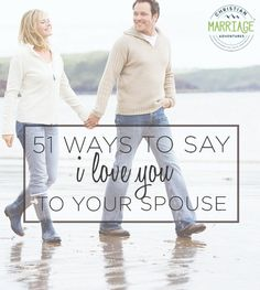 Ways to Say I Love You to Your Spouse How do you show your spouse love and appreciation? This ultimate list of ways to say I love you to your spouse is a great place to start and will strengthen communication in marriage, too. Communication In Marriage, Intimacy In Marriage, Marriage Relationship, Relationships, Advice For Newlyweds, Best Marriage Advice, Wedding Humor, Wedding Menu, Wedding Gowns