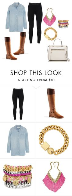 """""""Daily Riding"""" by tasyajane on Polyvore featuring Peace of Cloth, Jack Rogers, Madewell, Marc by Marc Jacobs, Juicy Couture, ABS by Allen Schwartz and Kate Spade"""