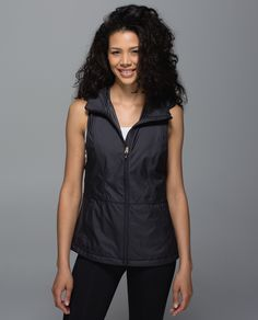 This loose, lightweight vest is a true chameleon. Feeling toasty? Roll it into a pocket for the ultimate stow-and-go.  Temperature drops? Pull out the hidden hood. We even added a cinchable waist so you can adjust the fit. You come and go, you come and go!