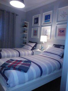 Baby Room Design Ideas Budget Ideas For 2019 Boys Bedroom Decor, Small Room Bedroom, Home Bedroom, Bedroom Ideas, Girl Bedrooms, Small Shared Bedroom, Bedroom Themes, Small Rooms, Home Room Design