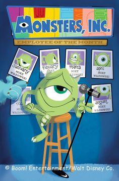 Monsters Inc Laugh Factory Boom Studios) comic books Walt Disney Co, Disney Magic, Disney Art, Disney Pixar, Monsters Inc University, Laugh Factory, Boom Studios, Disney Monsters, Images Disney