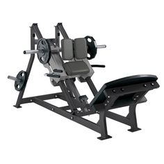 Hammer Strength P/L Linear Hack Press Squat (Remanufactured)