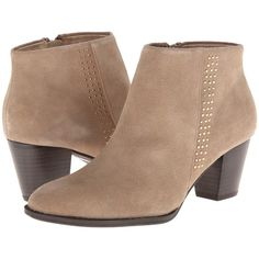 VIONIC with Orthaheel Technology Georgia Ankle Boot Women's Boots,... ($72) ❤ liked on Polyvore featuring shoes, boots, ankle booties, ankle boots, booties, zapatos, beige, wedge ankle boots, platform ankle booties and platform booties