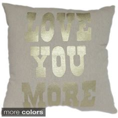 Throw pillow- Black, Grey, Gold, White Bedroom
