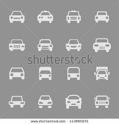 Car icon set for web by Maksym Sokolov, via Shutterstock