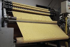 The moire process on fabrics #madeinfrance !