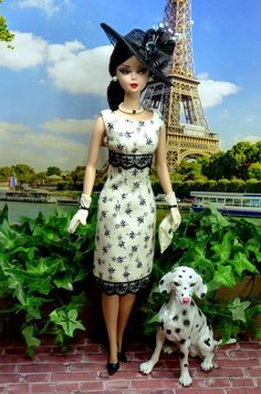 OOAK Barbie Silkstone Integrity Mod Vintage Fashion CHIC & SWEET Clare's Couture #ClaresCouture