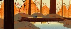 Animation Backgrounds - Samurai Jack