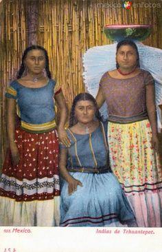 Fotos de Tehuantepec, Oaxaca, México: Indias de Tehuantepec