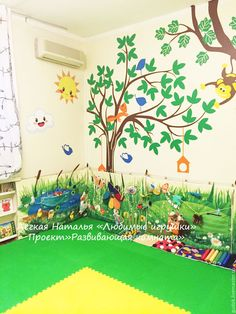 """Купить Проект """"Развивающая комната"""" - комбинированный, развивающий коврик, развивающие игры, развитие мелкой моторики"""