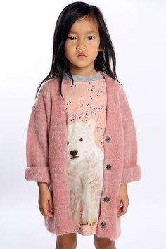 ANNE KURRIS FW 2016/17 Kids Winter Fashion, Winter Kids, Trendy Kids, Stylish Kids, Toddler Fashion, Kids Fashion, Little Girl Closet, Play Clothing, Stella Mccartney Kids