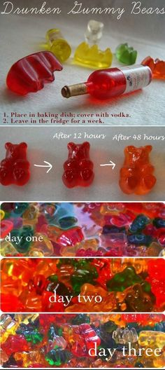 Birthday Party Food For Adults Alcohol Gummy Bears 22 Super Ideas Mixed Drinks, Fun Drinks, Beverages, Drunken Gummy Bears, Alcoholic Gummy Bears, Vodka Gummy Bears, 21st Birthday, Birthday Parties, Birthday Cakes