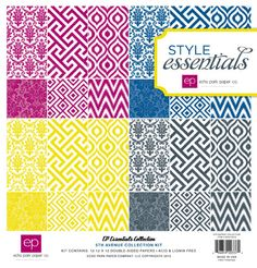 Echo Park 5th Avenue Collection Kit is ONLY $3.49 (65%) off today!