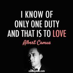 Albert Camus, 1913-1960.