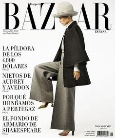 Portada Octubre 2014 Harper's Bazaar España.